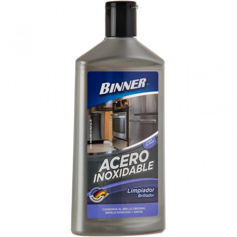 Limpiador para artículos de acero inoxidable 400 ml Binner