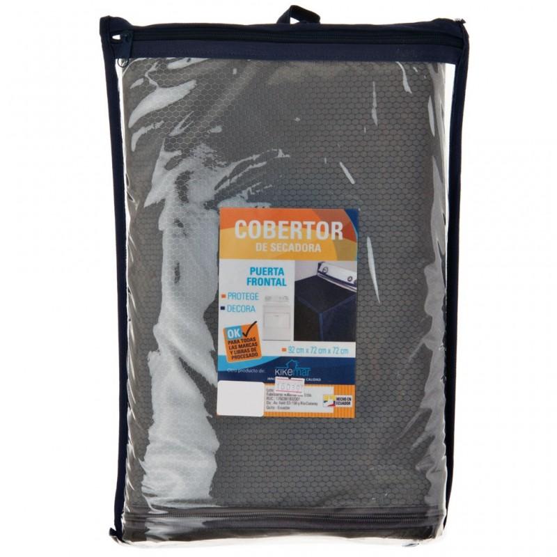Protector para secadora con puerta frontal gris Kikermar