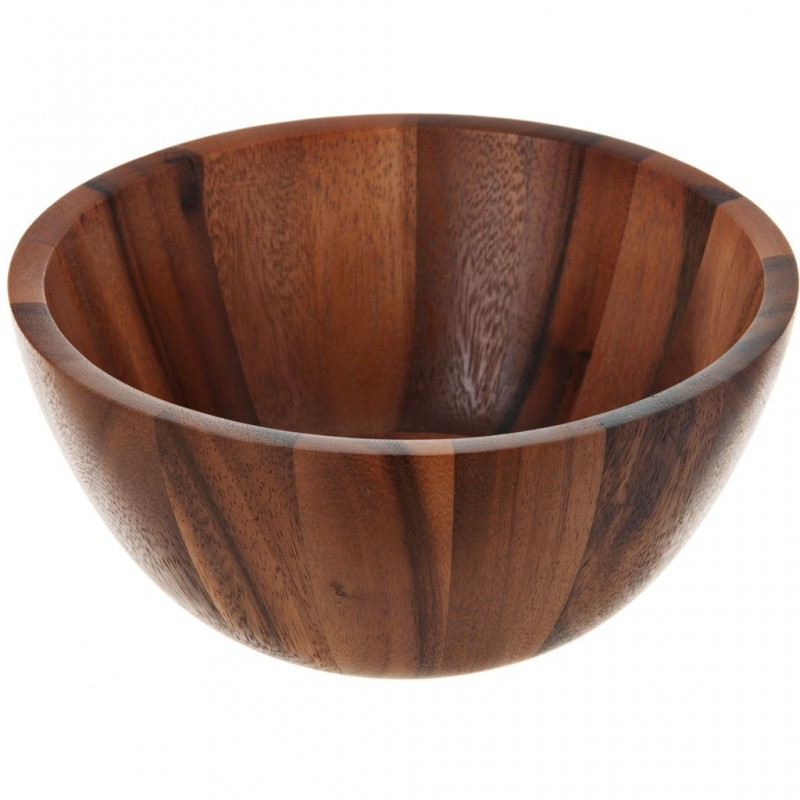 Ensaladera mediana de madera Billi