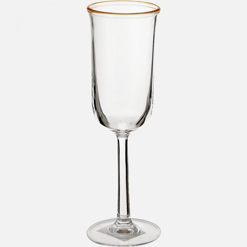 Copa para champagne Borde acrílico Haus