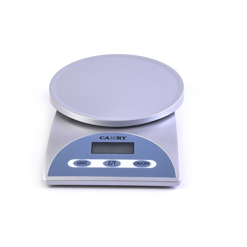 Balanza digital para cocina Camry plateado
