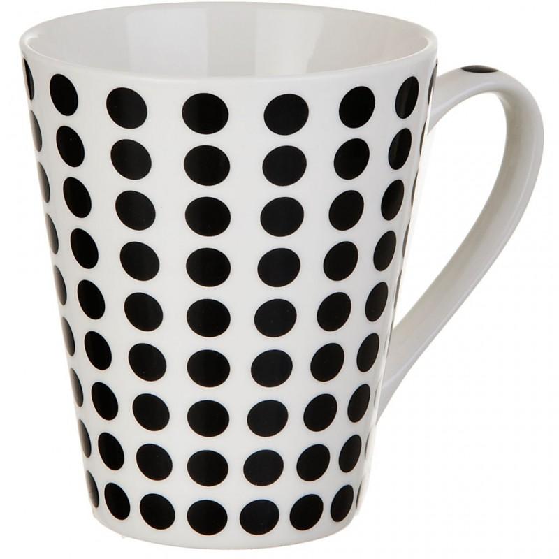 Jarro para café Puntos Negros 11 onzas