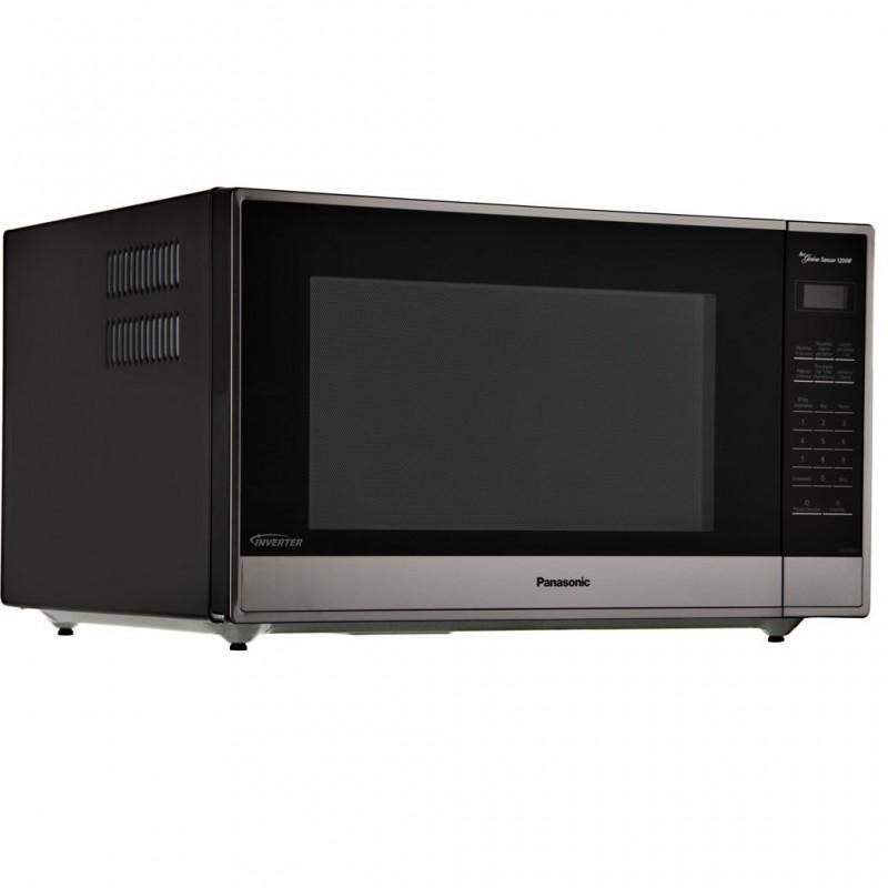 Microondas Inverter 10 niveles Panel Digital Silver 2.2' 1200W Panasonic