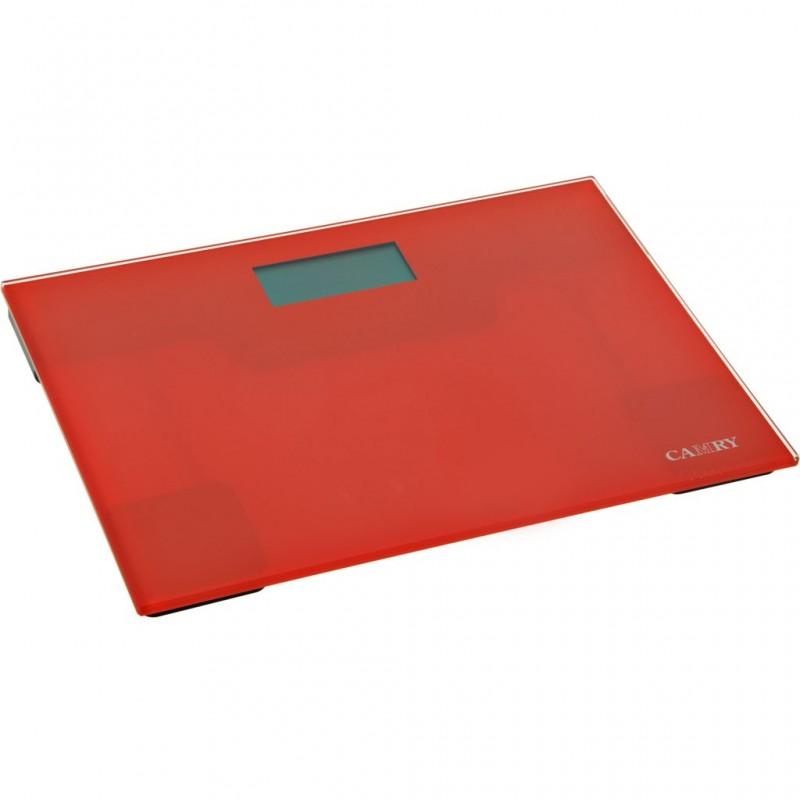 Balanza para baño Ultra Slim Rojo Camry