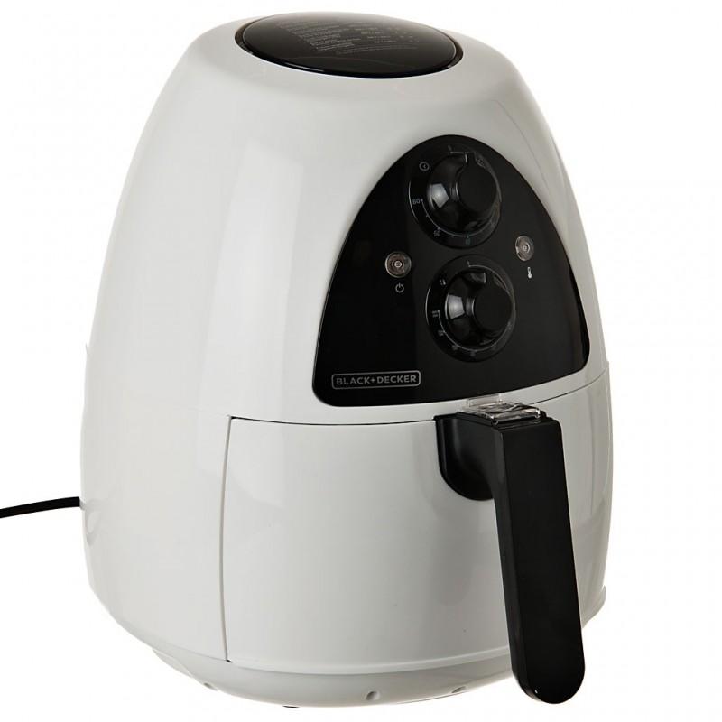 Freidora de aire caliente con temporizador 2 L 1200W Black & Decker