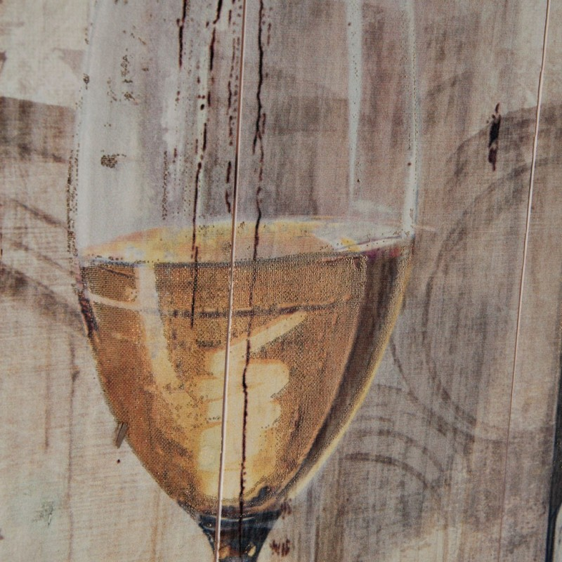 Cuadro Botella Champagne 90 x 60 cm