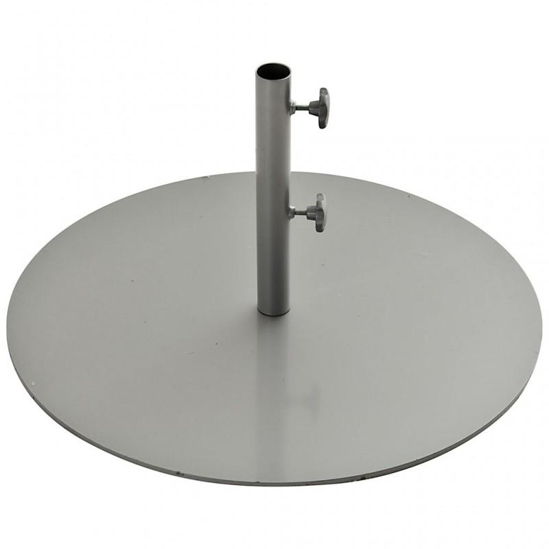 Base para parasol de acero