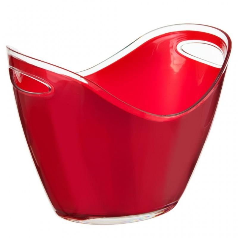 Hielera ovalada con asas Rojo Prodyne
