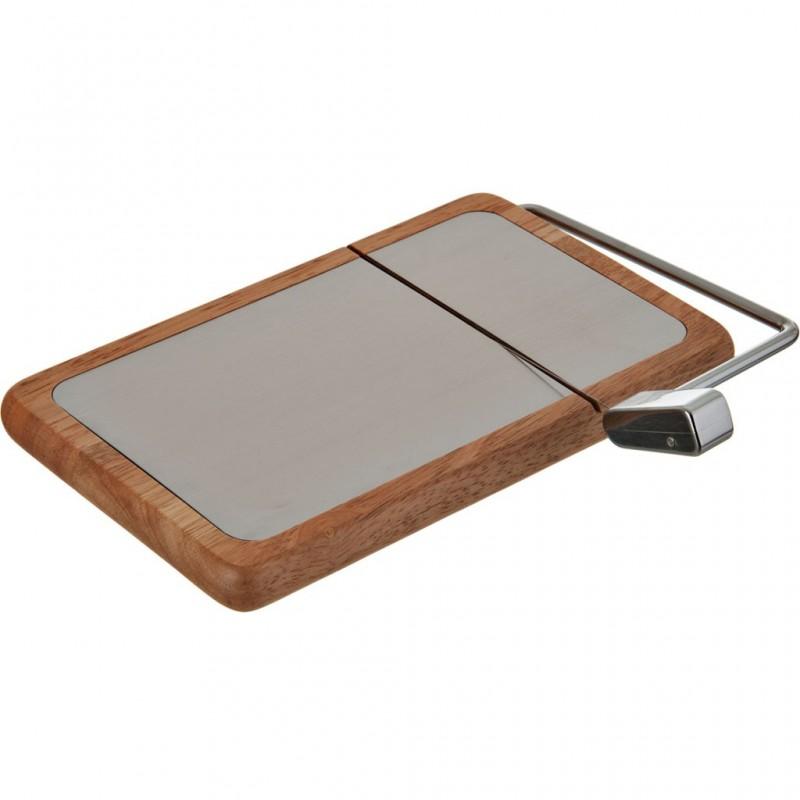 Tabla rectangular para queso con cortador madera / acero inoxidable Prodyne