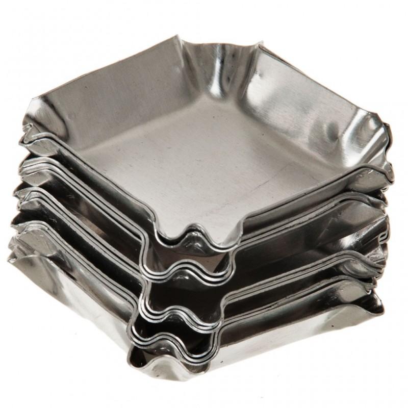 Juego de 12 moldes de aluminio para tartaletas