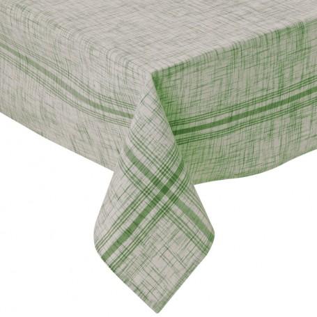 Mantel Rayas Jaspeado 100% algodón Haus