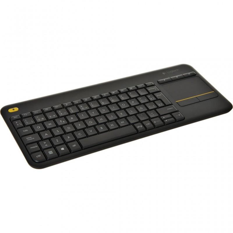 Teclado con mouse incorporado para PC y TV K400 Logitech