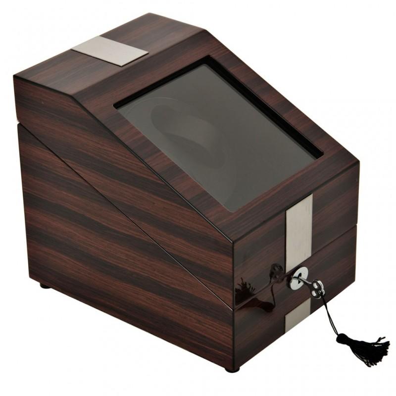 Caja para relojes con plataforma giratoria 2 servicos y 3 servicios fijos