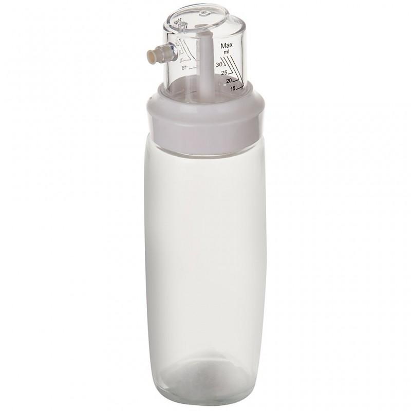 Aceitero / Vinagrero de vidrio y plástico Haus