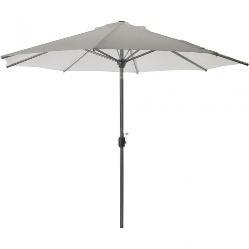 Parasol redondo inclinable aluminio / poliéster