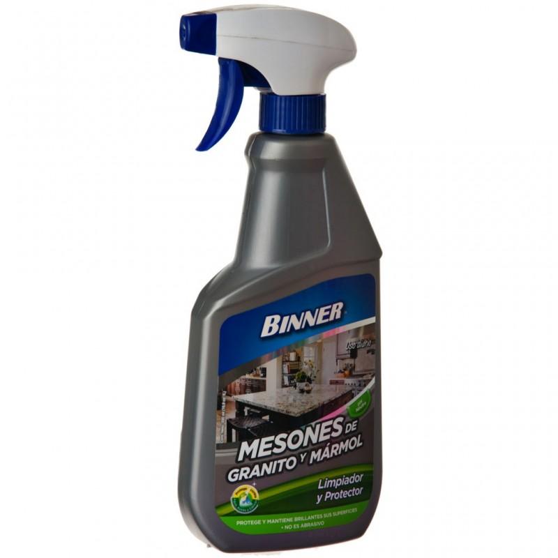 Limpiador / Protector para mesón de granito o marmol 500 ml Binner