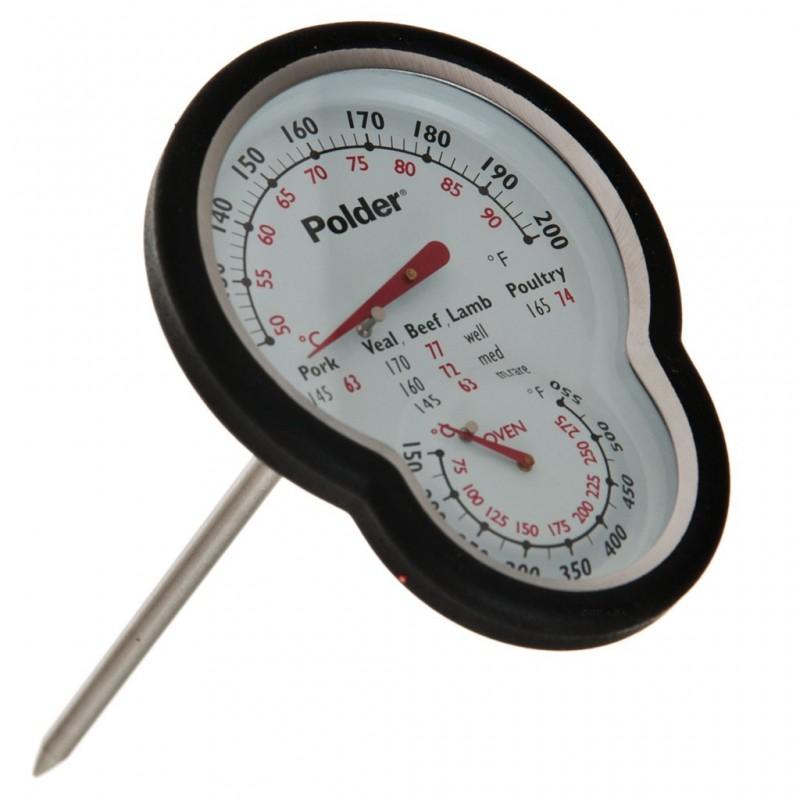 Termometro De Carne Polder Termometro a quadrante per carni da utilizzare per la preparazione e la cottura di arrosti. termometro de carne polder