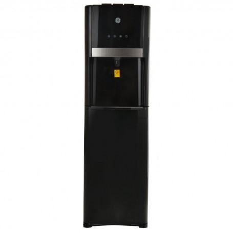 Dispensador de agua con 3 controles, llave y botellón escondido GE
