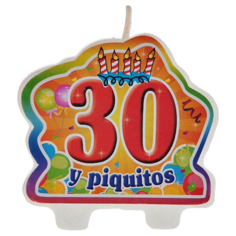 Vela 30 y piquito