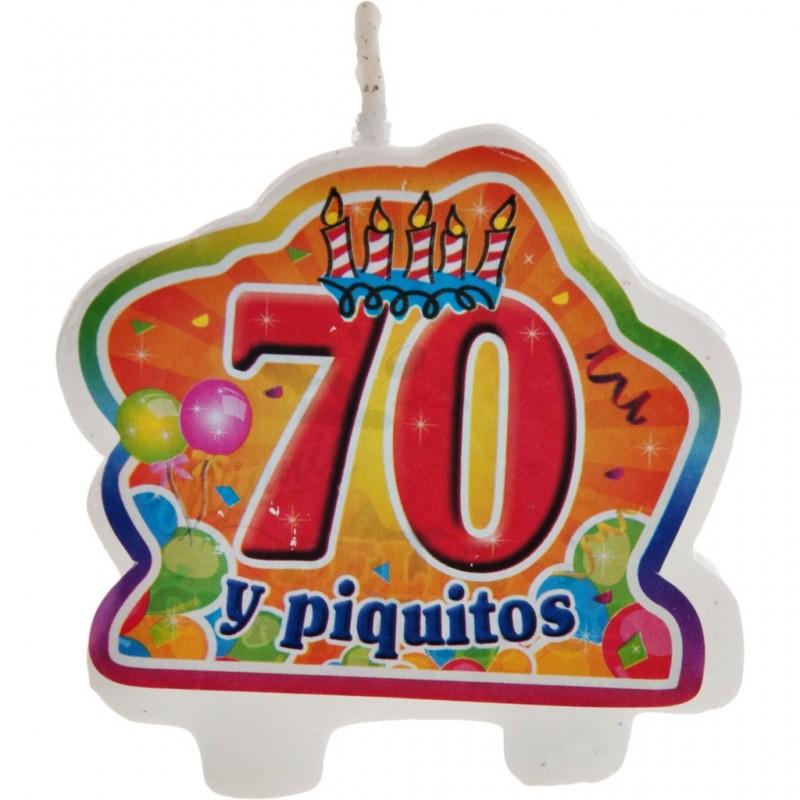 Vela 70 y piquito
