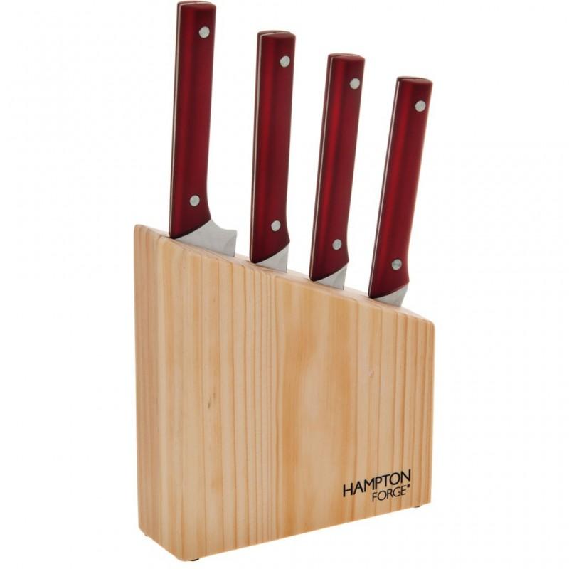 Juego de 5 piezas cuchillos y bloque Génesis Hampton Forge
