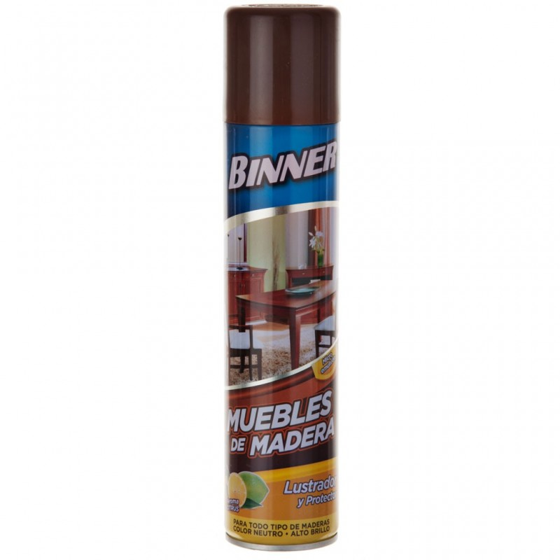 Limpiador spray para muebles de madera Binner