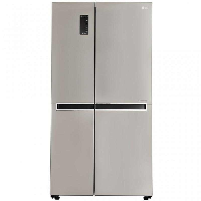 """Refrigerador Inverter con panel digital 626 L 22"""" LG"""