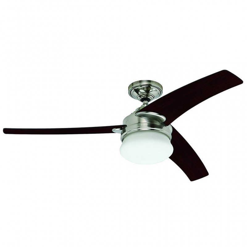 "Ventilador de techo con luz y control de pared 54"" 5678 CFM Pacifica 21372 Hunter"