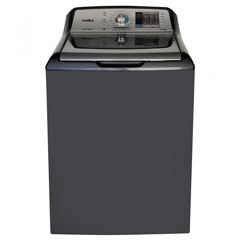 Lavadora con panel híbrido y 6 niveles de temperatura 52.8 lbs LMH74201WDAB0 Mabe
