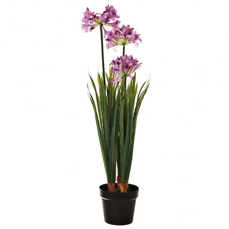 Planta artificial Flor Morada Haus