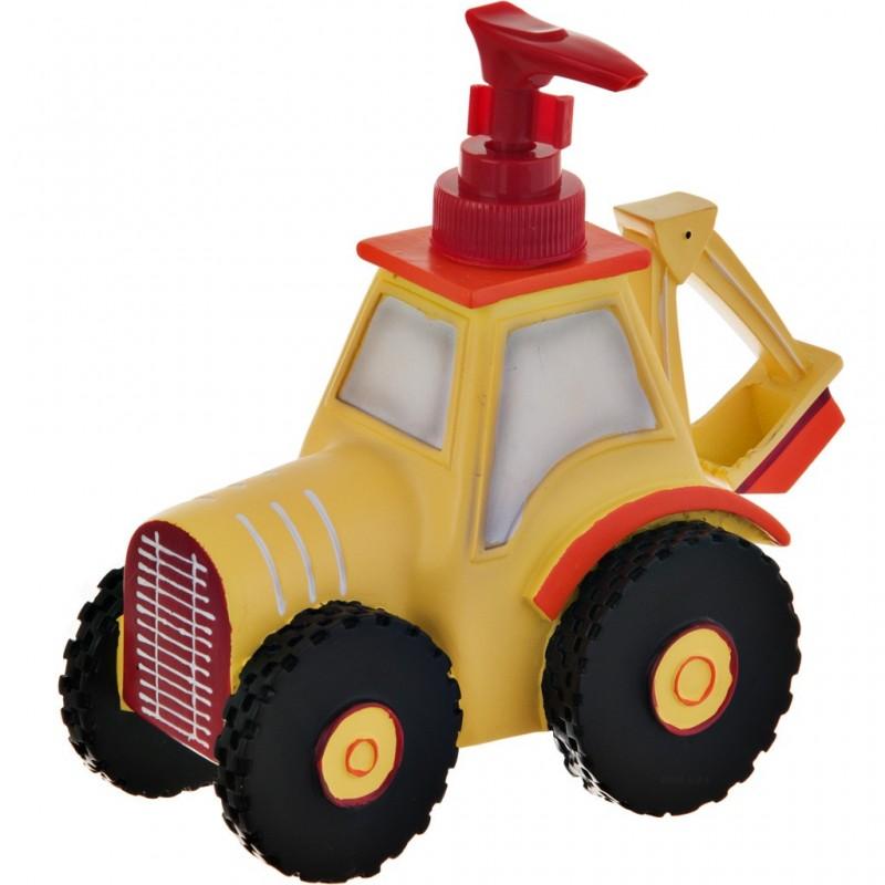 Dispensador para jabón Tractor Construcción 100% poliresina Haus