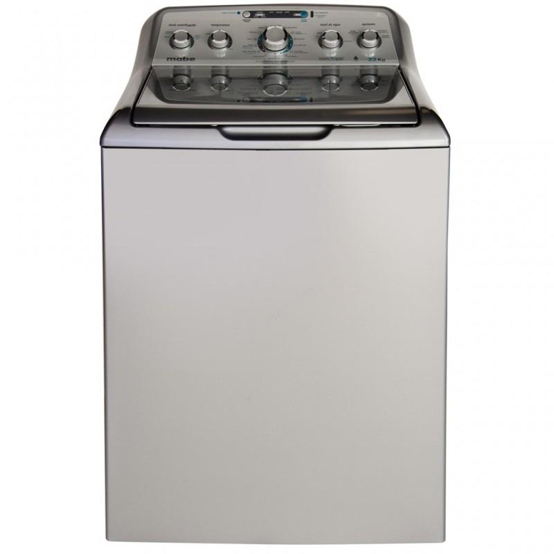 Lavadora 6 niveles de temperatura LMH72205WGAB0 48.4 lbs Mabe