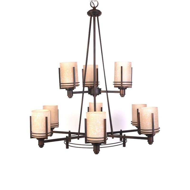 Lámpara colgante de 9 luces Forte Light