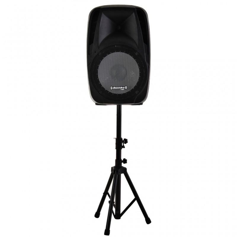 """Parlante para fiesta con USB, Radio FM, Bluetooth y luz LED 15.000 W 15"""" Bazzuka"""