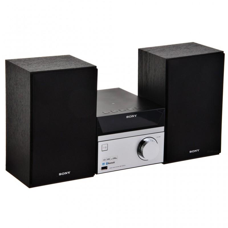 Micro componente Bluetooth, Radio FM y USB 12W CMT-SBT20 Sony