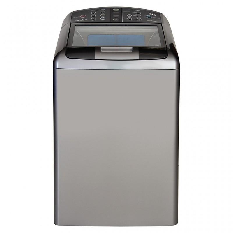Lavadora digital con tapa de cristal 35.2 lbs Mabe