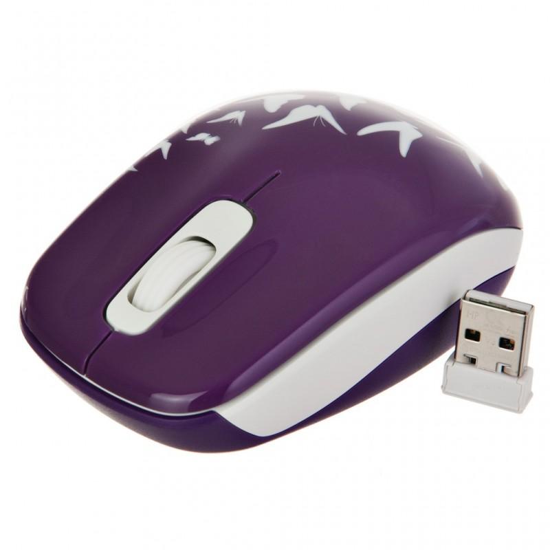 Mouse inalámbrico Mariposas Z3600 HP