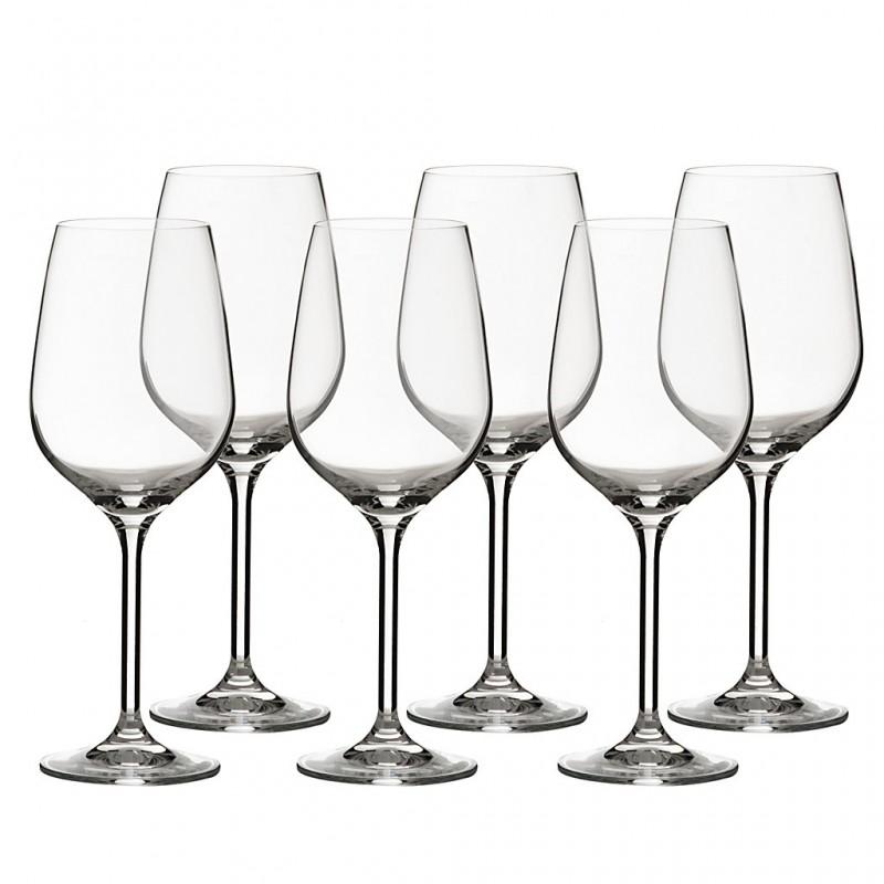 Juego de 6 copas para vino tinto Grand Gourmet Bohemia Cristal