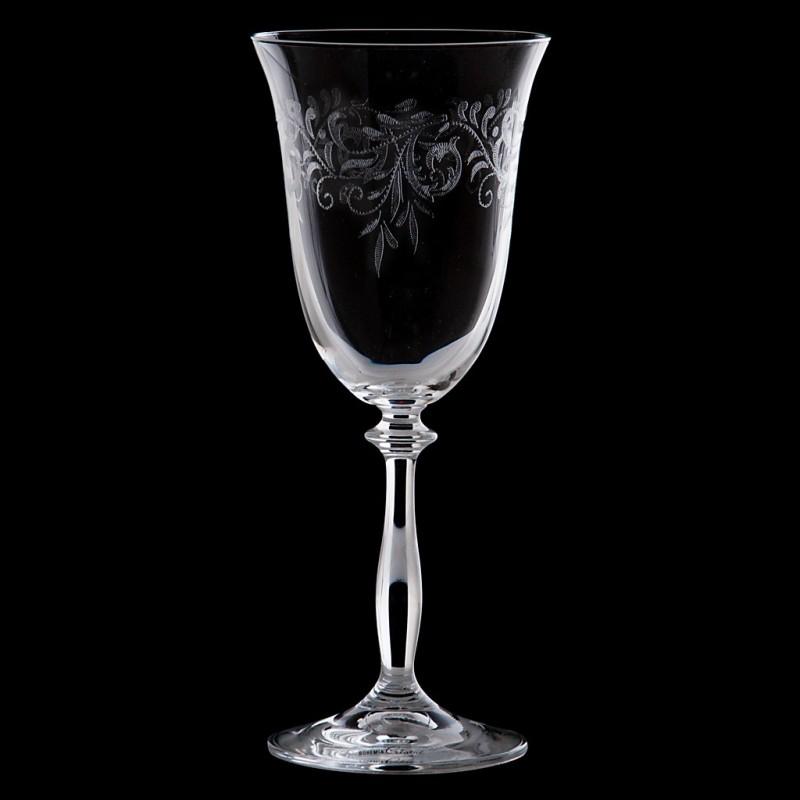 Juego de 6 copas para vino tinto Romance Bohemia Cristal