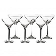 Juego de 6 copas para Martini Grand Gourmet Bohemia Cristal