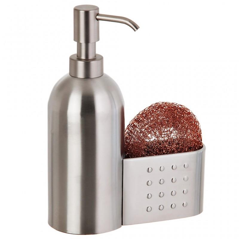 Dispensador para  jabón con esponja Interdesign