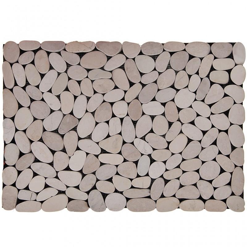 Individual Piedras Cortadas Blanco