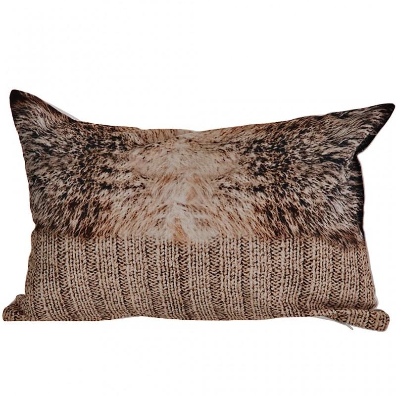 Forro para cojín 30x45 cm Texturas algodón Haus