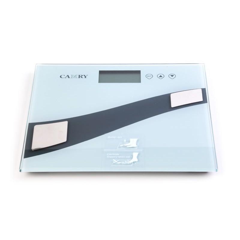 Balanza digital con medidor de grasa / hidratación Camry Pantalla LCD