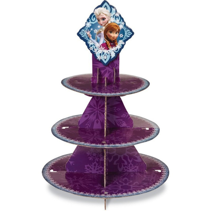 Porta cupcakes 3 niveles Frozen Wilton
