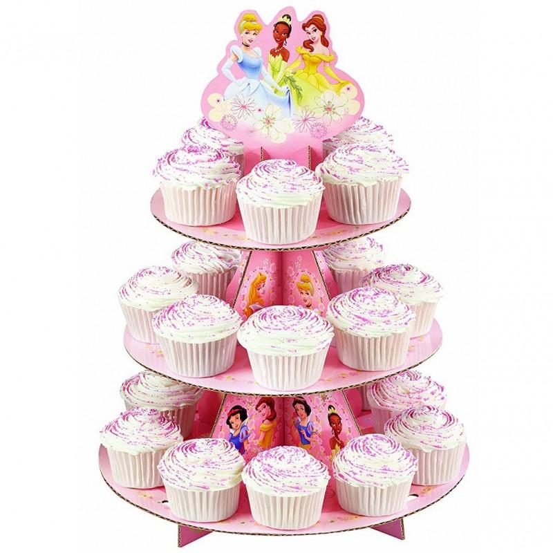 Porta cupcakes Disney Princesas Wilton
