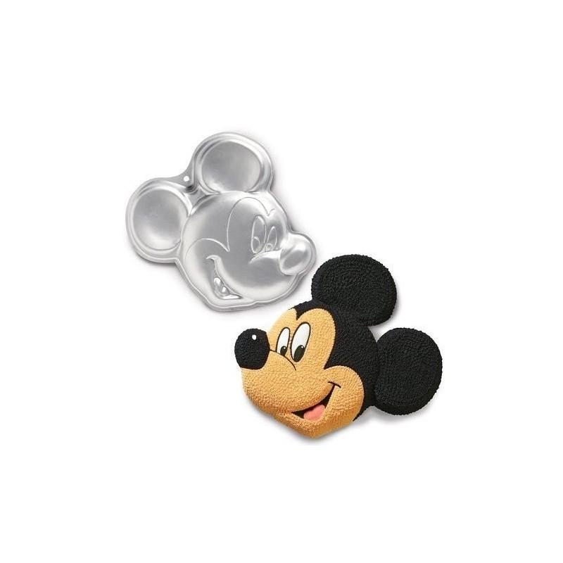 Molde para pastel de aluminio Mickey Mouse Clubhouse Wilton