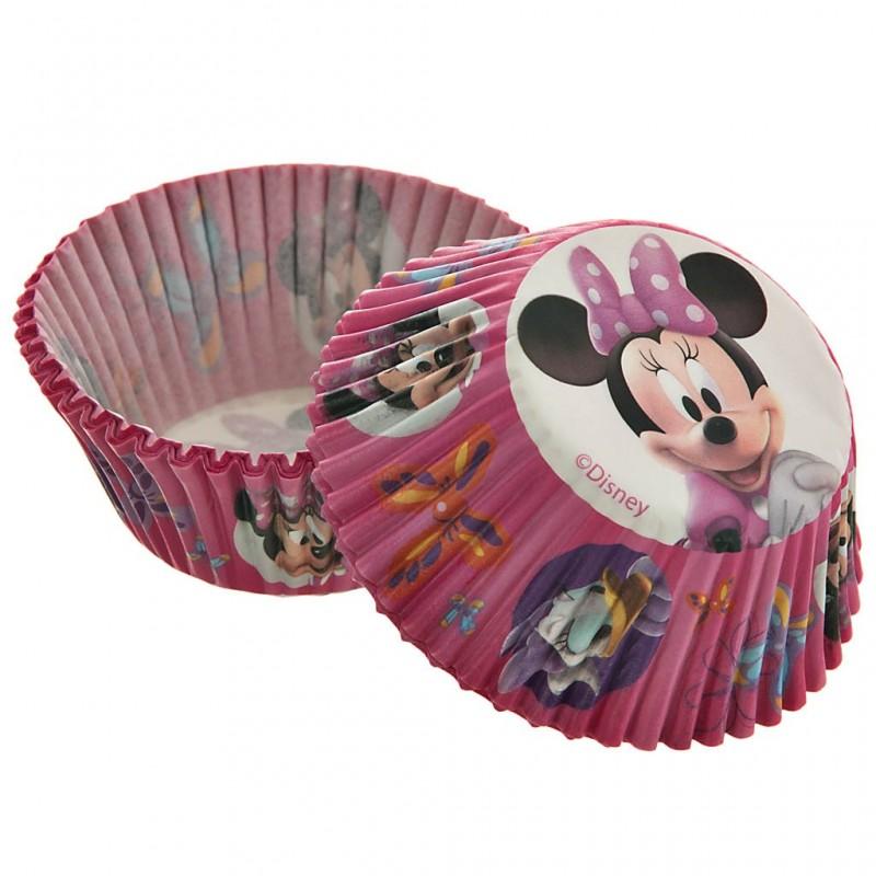 Juego de 50 pirutines de papel Minnie y Daisy 5 cm Wilton