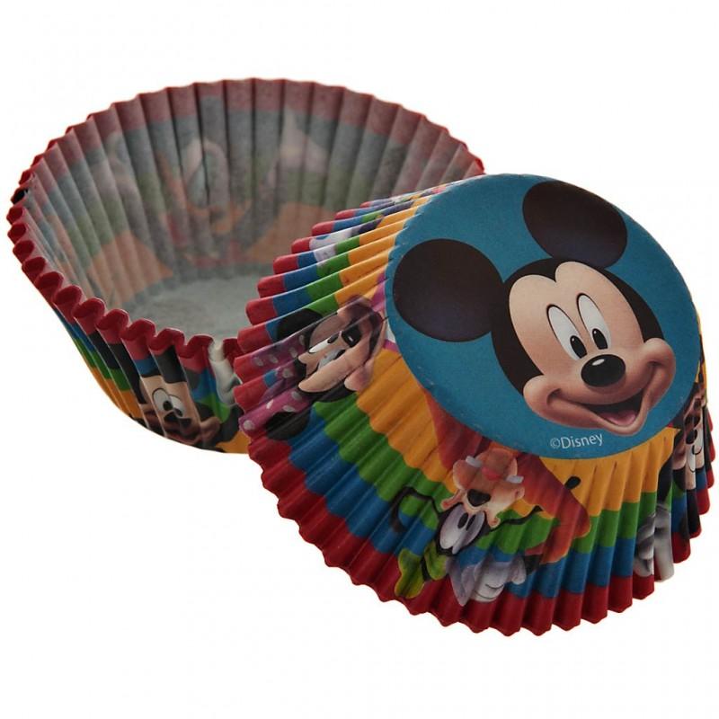 Juego de 50 pirutines de papel Mickey Mouse Clubhouse 5 cm Wilton