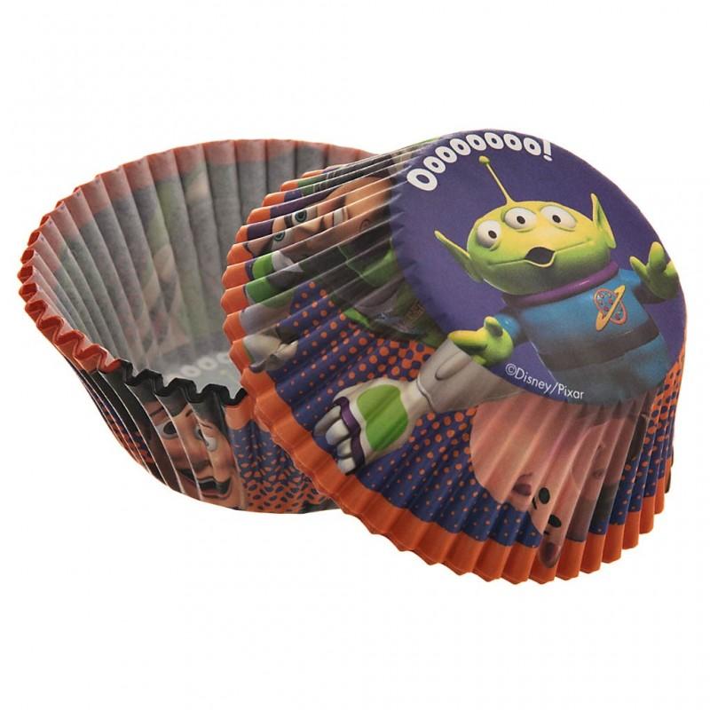 Juego de 50 pirutines de papel Toy Story 5 cm Wilton